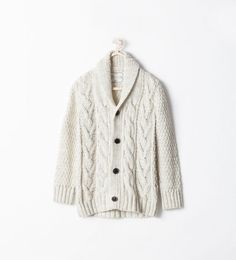 fall wardrobe:  Cardigans and Sweaters - Baby Boys - Kids | ZARA United States