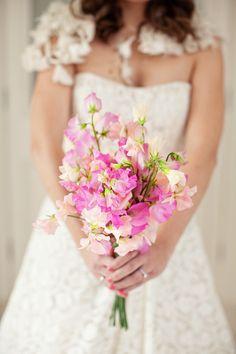 Image by Christian Ward. Wedding bouquet.