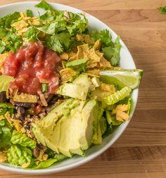 Veggie-Filled Taco Salad