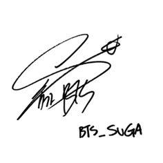 Girly Drawings, Bts Drawings, Bts Suga, Bts Bangtan Boy, Bts Signatures, Bts Tattoos, Tattos, Bts Poster, Outline Art