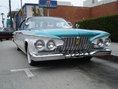 1961 Plymouth Fury love it or hate it theres no inbetweens with this one  guess how i feel
