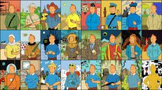 The Adventures of Tintin: The Black Island and other books, by Hergé