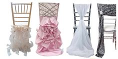 Fancy Wedding/Party/Event Chair Sash Cover