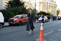 See All the Street Style From Paris Fashion Week: Caroline Issa