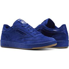 dda7b9ac326f Reebok Club C 85 SG ( 75) ❤ liked on Polyvore featuring men s fashion
