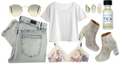 """tea"" by ulrikebliss ❤ liked on Polyvore"