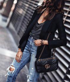 Imagen de black, chic, and blazer