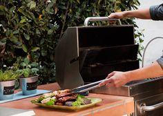 Time spent outside just isn't complete without cooking on the grill. Keep herbs within reach and read on for other tips for tasty grilling. We'll show you how to do that on The Home Depot's Garden Club blog.