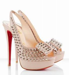 Christian Louboutin Slingbacks.  These are kinda crazy, but for some reason I love them!