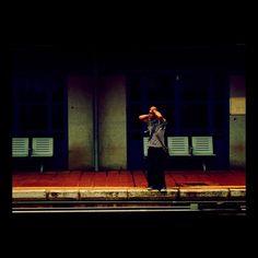 Train doesn't come  http://www.youtube.com/watch?v=dIsHsq27rhU