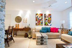 Sala de estar decorada por Pepita Vidal Bacchin.