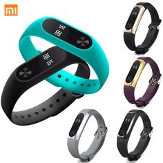 Hot Original Xiaomi Mi Band 2 OLED Smart Bracelet Wrist band Fitness Tracker Bracelet Heart rate Monitor Home Sensor Epacket