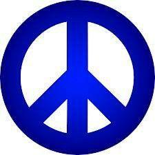 Blue taxi peace