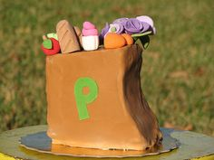 A Publix Grocery Bag Mini Cake by sugarcrushmiami, via Flickr