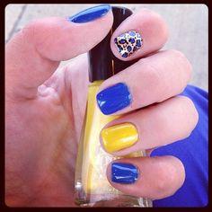 #nails #design #leopard