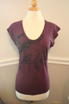 Burgundy Bamboo sleeveless top by circularaccessories on Etsy, $29.00