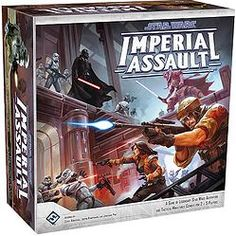 Star Wars: Imperial Assault :  In the campaign game, you and up to four other friends play a series of thrilling missions woven together in a narrative campaign, and in the skirmish game, you and your opponent muster your own strike teams and battle head-to-head over conflicting objectives. Whether you play as a hero of the Rebellion and fight alongside iconic characters like Luke Skywalker and Han Solo, or command the seemingly limitless armies of the Galactic Empire, youll enter the Star…