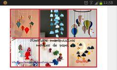 Moviles papel http://www.imageneseducativas.com/ideas-de-moviles-de-papel-para-decorar-los-techos-de-de-tu-clases/