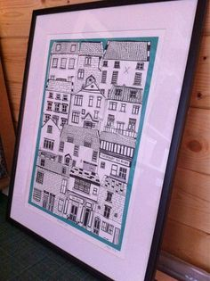 Jess Hogarth - coastal cottages print
