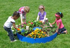 Explore nature play on your natural preschool playground! The 48 inch diameter Pizza Garden is divided into six sections. The Pizza Garden allows the children to dig, plant, nurture and harvest a variety of plants. The multiple sections allow children … READ MORE