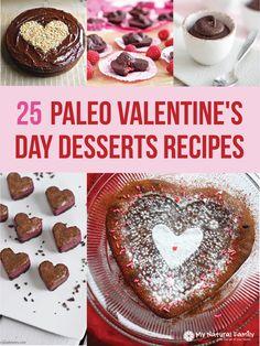 25+Paleo+Valentine's+Day+Desserts+Recipes