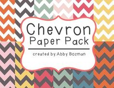 Digital Paper - Chevron - Free for Personal or Commercial Use