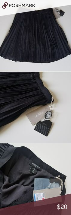 """Jason Wu Target Pleated Black Skirt sz 4 new For your consideration is a Jason Wu for Target black pleated skirt in size 4. Brand new with tags attached. Fully lined. Side zipper.   Retail $29.99  Measurements laying flat:  Waist 14"""" Length 20"""" Jason Wu Skirts"""