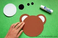 Learn about circles, sizes, and body parts with this easy bear craft. Art Activities For Kids, Fun Crafts For Kids, Preschool Activities, Games For Kids, Kids Workshop, Circle Crafts, Bear Crafts, Montessori Toddler, Art Education