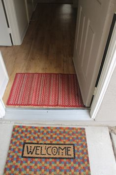 Have Two Mats At Your Entrance, A Heavy Duty Outside Mat And Washable Inside  Mat. The Two Working Together Will Stop The ...