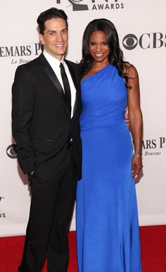 Will Swenson and Audra McDonald. Audra won the Tony for Best Lead Actress in a Musical and now has a record, 4 Tony awards (the other 3 are for Featured Actress...). FYI, Angela Lansbury also has 4.