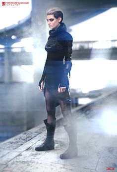 The Future Fashion Of Mirror's Edge