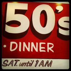 diner #Vintage #Diner #50s