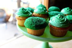 Recipe Irish Hills Cupcakes  Prep Time: 15 Minutes Cook Time: 18 Minutes Difficulty: Easy Servings: ...