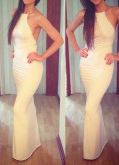 Alexandra Marie White Dress. Summer Fashion