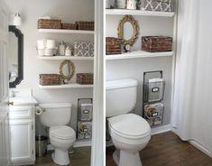 Fika a Dika - Por um Mundo Melhor: Prateleiras no Banheiro