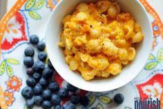 Butternut Squash Mac and Cheese // @Nosh and Nourish