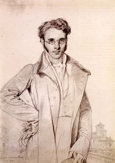 Andre Benoit Barreau, called Taurel - Jean Auguste Dominique Ingres