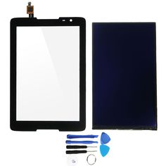 Touch Screen Digitizer + LCD Display With Tools Replacement For Lenovo IdeaTab A8-50 A5500 A5500F 8