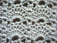 Узор Сводчатая галерея - Crochet pattern vaulted gallery - веера и ракушки крючком - YouTube