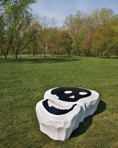 """Atelier Van Lieshout, """"Funky Bones,"""" 2010 Indianapolis Museum of Art © Atelier Van Lieshout"""