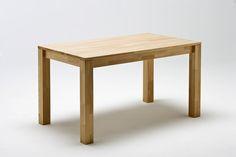 Esszimmertisch Persus 7 Größen Massiver, rechteckiger Vierfußtisch mit durchgehender Platte oder ausziehbar Massivholz Material: Buche lackiert Tisch A:...