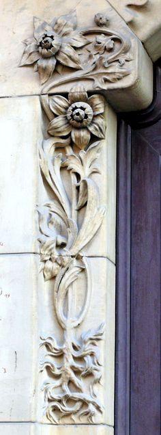 Cases Joan Rabaseda. Architect: Ramon Viñolas i Llosas. Barcelona - Diputació. (por Arnim Schulz em Flickr)