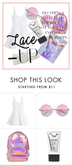 """""""Untitled #35"""" by dafnaschuster ❤ liked on Polyvore featuring Elizabeth and James, Miss Selfridge and Stila"""