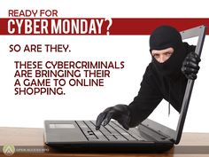 The #CyberMonday holiday rush starts in a few hours. Cybercriminals will be waiting to step up to the plate with scams, phishing attacks, and spam. Be careful out there.    #WebSecurity