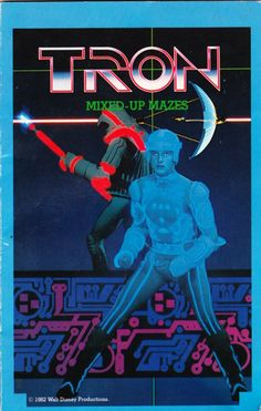1982's TRON Mixed-Up Mazes Will Put You On A Different Type Of Game Grid!