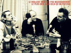 #citation du #vin Georges Brassens