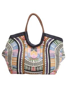 mara hoffman ele Beach Bag