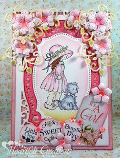 Heartfelt Creations | Its A Girl