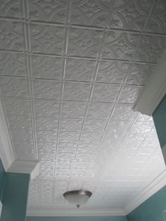 Beautiful unique and elegant ceiling tiles can really make an impact