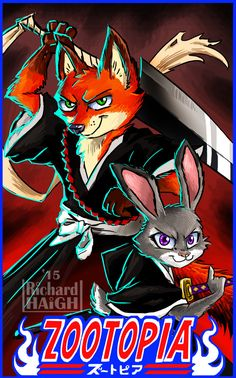 Ok! So I'm not the Only one who was thinking Nick and Judy were like Ichigo and Rukia!!